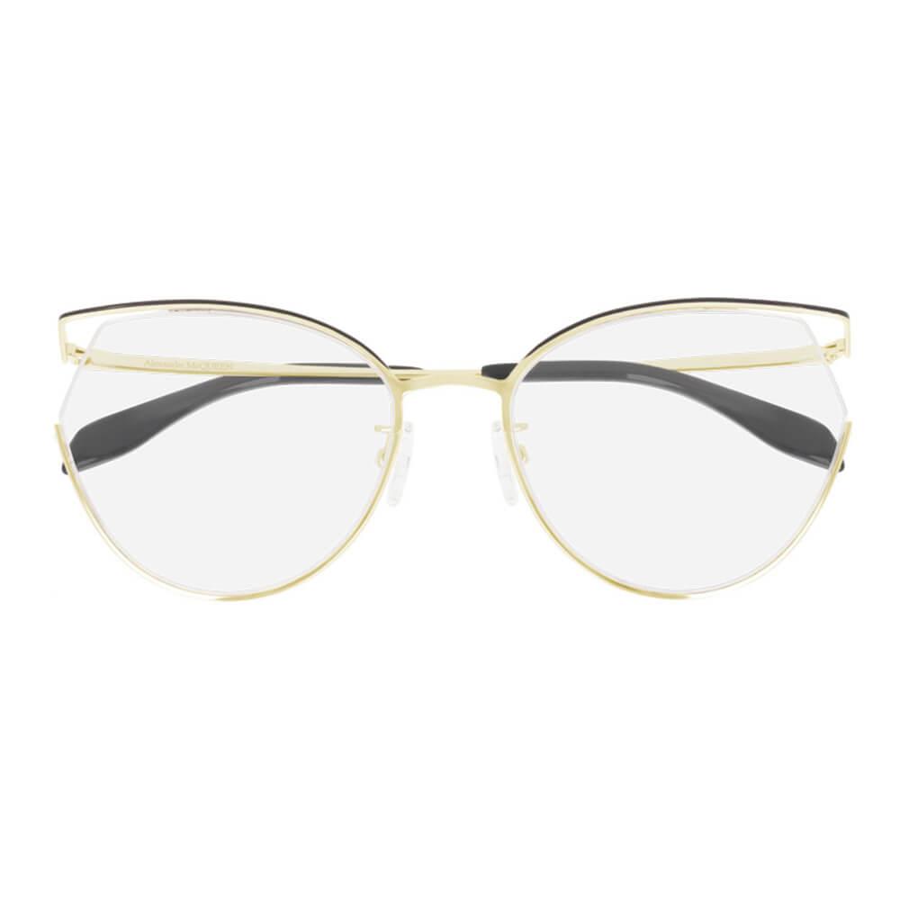 Montatura Occhiali da vista donna Alexander McQueen AM0256O 001